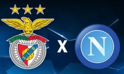 Golo Benfica 1 vs 2 Nápoles – Liga dos Campeões