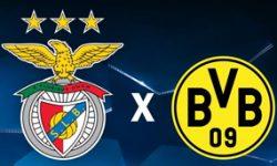 Golo Benfica 1 vs 0 Borussia Dortmund – Liga dos Campeões