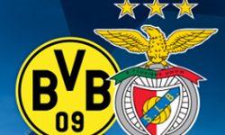 Golos Borussia Dortmund 4 vs 0 Benfica  – Liga dos Campeões