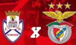 Golos Feirense 0 vs 2 Benfica – 27ª jornada