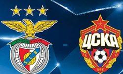 Golos Benfica 1 vs 2 CSKA – Liga dos Campeões