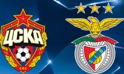 Golos CSKA 2 vs 0 Benfica – Liga dos Campeões