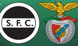 Golos Sertanense 0 vs 3 Benfica – Taça de Portugal
